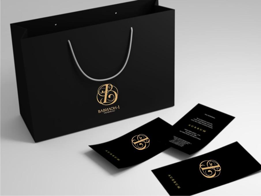 Прозрачный пакет с логотипом