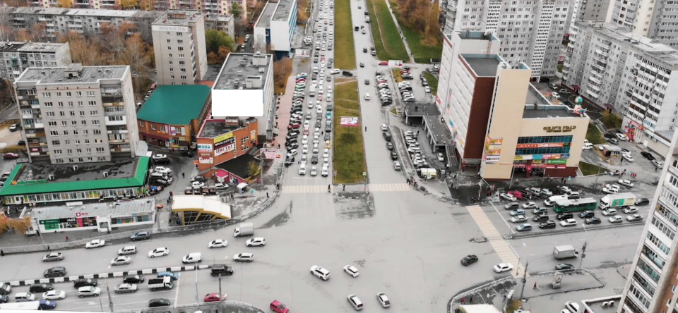 реклама на фасадах зданиях Новосибирск