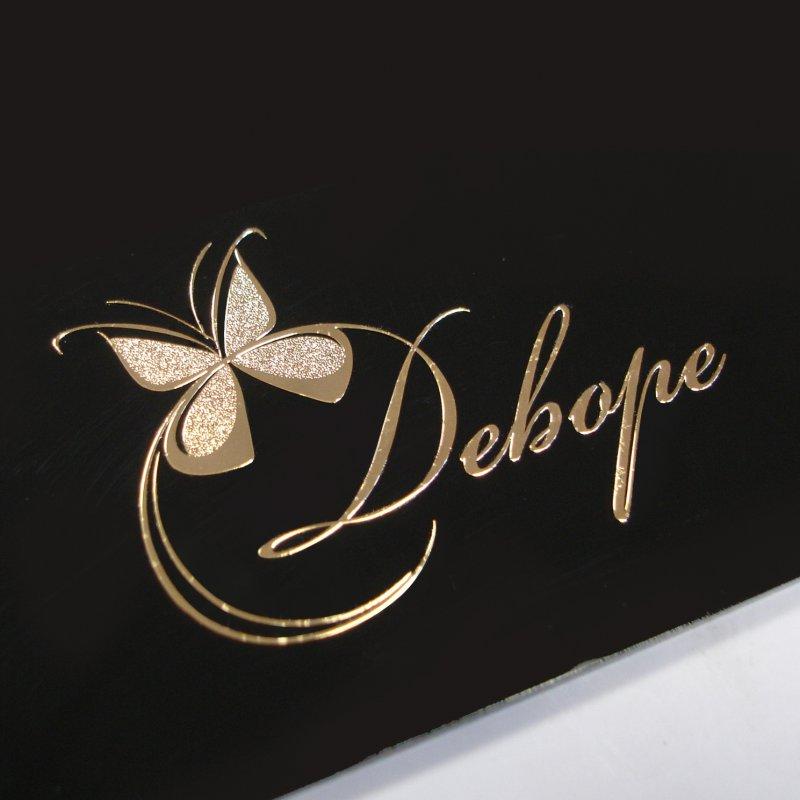 Никелевые наклейки логотипа