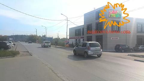 Начал работу первый видеоэкран в г. Обь