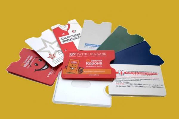 Чехлы для банковских и дисконтных карт